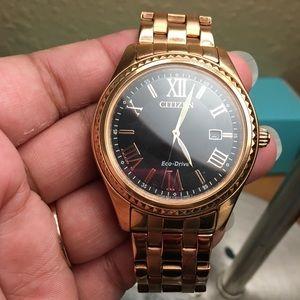 Citizen Eco- Drive Rose color watch
